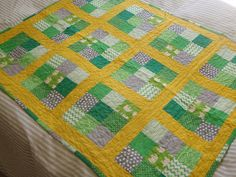 Baby quilt - cute!