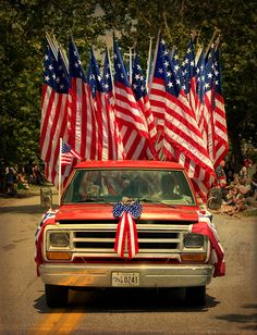 a festive July 4th parade - one of 8 picks for this week's Friday Favorites