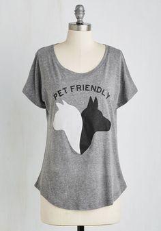 As Good As It Pets Top | Mod Retro Vintage Sweaters | ModCloth.com
