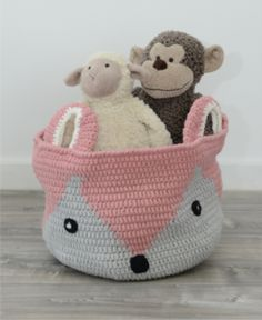 Handmade Fox Basket