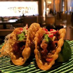 Wagyu Tacos at Kuro.  Click Visit and take a look at our review.
