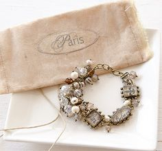❥ Mary Ryan's French-inspired bracelet in the new Jewelry Affaire