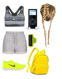 """Untitled #435"" by sofia-boubou on Polyvore featuring Topshop, NIKE and Tommy Hilfiger"