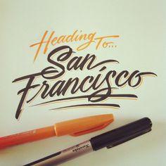 Heading to... San Francisco