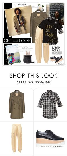 """""""Positive image boost for little black girls the world over!"""" by mcheffer ❤ liked on Polyvore featuring Club Monaco, Chloé, Hollister Co., Redemption, STELLA McCARTNEY, Kate Spade and GetTheLook"""