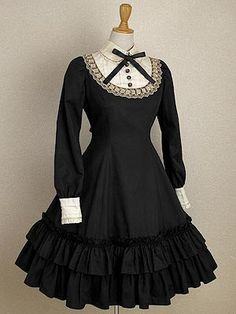 Lolita Fashion - I could see Alice Cullen wearing this style but only classic since its simple