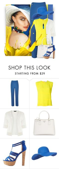 """Ready for summer"" by fashion-architect-style ❤ liked on Polyvore featuring River Island, 8PM, Dorothy Perkins, Prada, Charlotte Russe and Accessorize"