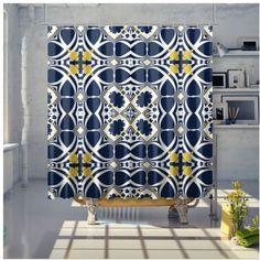 Shower Curtain Bathroom Curtains, Samba, Sunday, Shower, Rain Shower Heads, Domingo, Showers, Bathroom Window Curtains