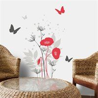 Shop ADzif Mia & Co Avignon Wall Decals at Lowe's Canada. Find our selection of wall decals at the lowest price guaranteed with price match + off. Wall Appliques, Flower Wall Decals, Wall Accessories, Home Living, Living Room, Wall Decal Sticker, White Vinyl, Wall Art Decor, Sweet Home