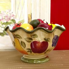MDesign Fruit Bowl For Kitchen Countertops   Bronze | Fruit Decor |  Pinterest | D, Fruit And Fruit Bowls