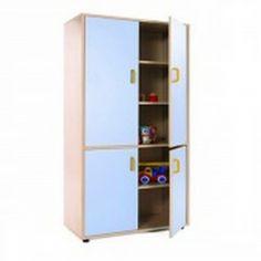 Mueble escolar alto armario 4 puertas