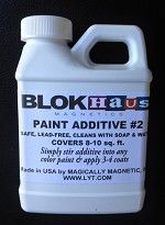 Magnetic Paint Additive (make any paint magnetic paint!)