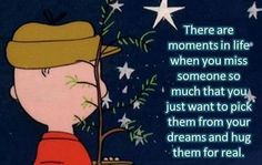 Missing someone at the holidays