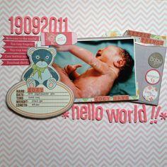 hello world!! - Scrapbook.com