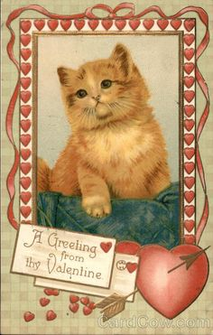 A Greeting from thy Valentine//Year: 1910