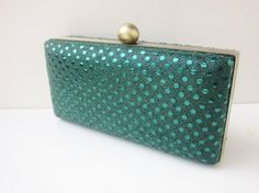 sequin clutch purse/Bridesmaid by VincentVdesigns on Etsy, $45.00