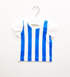 Blue Stripes baby t-shirt, toddler t-shirt, baby boy t-shirt, baby girl t-shirt, organic cotton, organic baby clothes, blue t-shirt, gifts