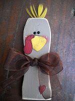 2x4 Thanksgiving Turkey by Craft Goodies | Ucreate