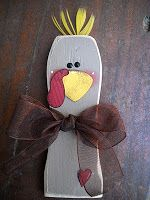2x4 Thanksgiving Turkey by Craft Goodies | Ucreate