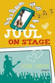 """Yvonne Huisman de schrijfster van Juul on stage is geboren in 1968. Ze hield al vroeg van schrijven, maar maakte pas in 2002 de eerste stap naar het schrijven door een eigen tekstbureau te beginnen. Na een cursus Kinderboeken schrijven kwam in 2015 haar eerste boek """"Juul on fire"""" uit.   #jeugdboeken #Juul on fire #Juul on stage #lezen #liften #Parijs #Yvonne Huisman"""