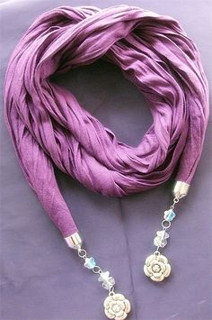 jewelry scarves - I have THIS one!