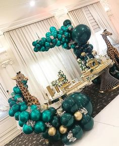 You have a party coming up and you have made the effort of finding the perfect party balloons. Well, it's one thing to find the best balloons Balloon Garland, Balloon Decorations, Birthday Party Decorations, Baby Shower Decorations, Birthday Parties, Balloon Ideas, Balloon Arch, Boy Baby Shower Themes, Baby Shower Parties