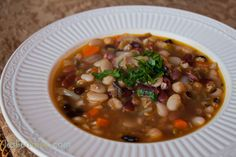 17 Bean and Barley Soup recipe
