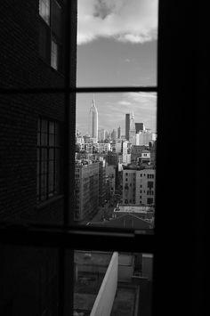 NYC. In Manhattan, vertical slots between buildings always provide good visual results...