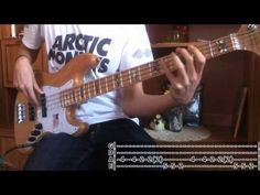 (14) [TABS!] Arctic Monkeys - I Bet You Look Good On the Dancefloor (Bass Cover) - YouTube