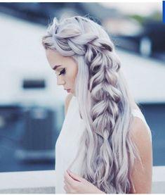 Mermaid Hairstyles Pink And Blue Unicorn Hair  Mermacorn Hair  Pinterest