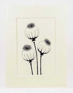 - verse koffie - My Bilder Botanical Line Drawing, Botanical Illustration, Doodle Drawings, Doodle Art, Motif Art Deco, Flower Doodles, Linocut Prints, Art Sketches, Flower Art