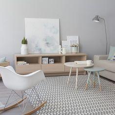 Trend mueble tv cajón/hueco 180cm