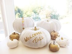 DIY Fall 2016: How to Style boring pumpkins into super stylish and fashionable ones. Now let's do this and celebrate in style!