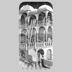 Belvedere de Escher - Funda iPhone 5