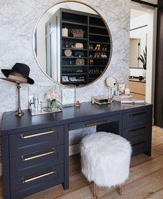 Vanity in sitting room area? Vanity in sitting room area? Luxury Bedroom Furniture, Home Bedroom, Bedroom Decor, Deco Furniture, Furniture Online, Furniture Stores, Master Bedroom, Furniture Design, Dressing Table Design