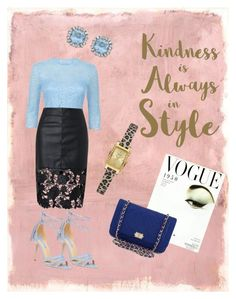 """""""Untitled #18"""" by jojohairstudio on Polyvore featuring Rothko, Dorothy Perkins, Damsel in a Dress, Sixtrees, GUESS and Chanel"""
