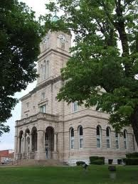 Rockingham County Courthouse, Harrisonburg, VA.  Visited several times for genealogical research in 2004.  Shannon's grandfather, great grandfather and gg grandfather lived in this county.