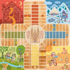 Translate To Spanish, The Camino, Pilgrim, Board Games, Things To Come, Kids Rugs, Colours, Comics, Illustration
