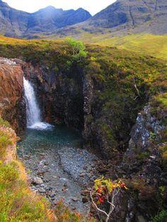 Fairy Pools (Piscinas de las Hadas). Isla de Skye (Escocia, Reino Unido)