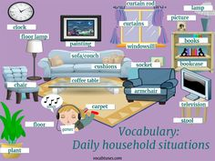 When you are looking for tips to make your child learn English at home then games, songs and household items can come quite handy. English At Home, Kids English, English Class, English Words, English Lessons, English Grammar Games, English Vocabulary, Teaching Kids, Kids Learning