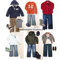 Toddler Boy School Days Fashion