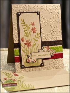 .vintage wallpaper embossing folder, just believe