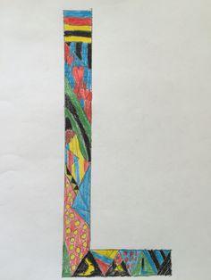 2. klasse - Doodle, bogstaver, mønstre og farver