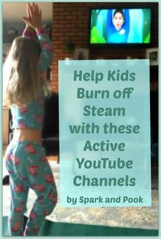 When you're stuck indoors you can help kids burn off steam with these active YouTube channels for kids.