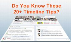 20+ Overlooked Facebook Timeline Tips You Must Know!  Posted by Ching Ya | Posted in Facebook, Social Media Tool, Social Networking |