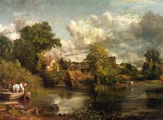 John Constable - Beyaz At