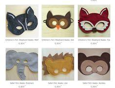 masques en feutrine