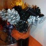 Un Halloween mémorable - Soanity How To Memorize Things, Wreaths, Halloween, Bunch Of Flowers, Door Wreaths, Deco Mesh Wreaths, Floral Arrangements, Garlands, Floral Wreath