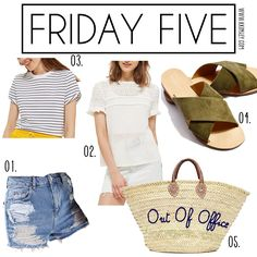 Friday Five | Hello Kinsley