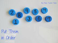 Boy Mama Teacher Mama Bottle Top Math 8